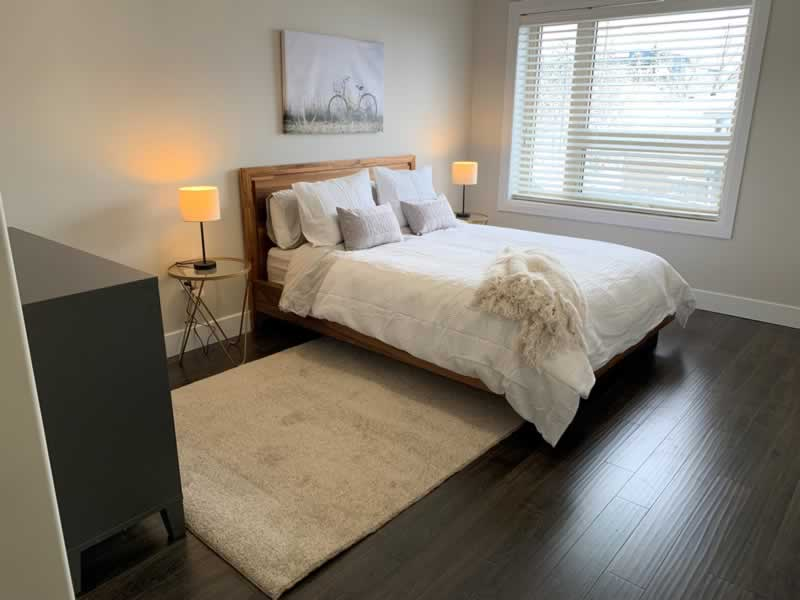 Condo Bedroom Property Development J. Corsi Developments Home Builder and House Construction Sudbury Ontario