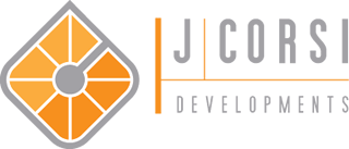 Logo Property Development J. Corsi Developments Home Builder and House Construction Sudbury Ontario